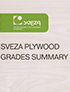 SVEZA plywood grades summary